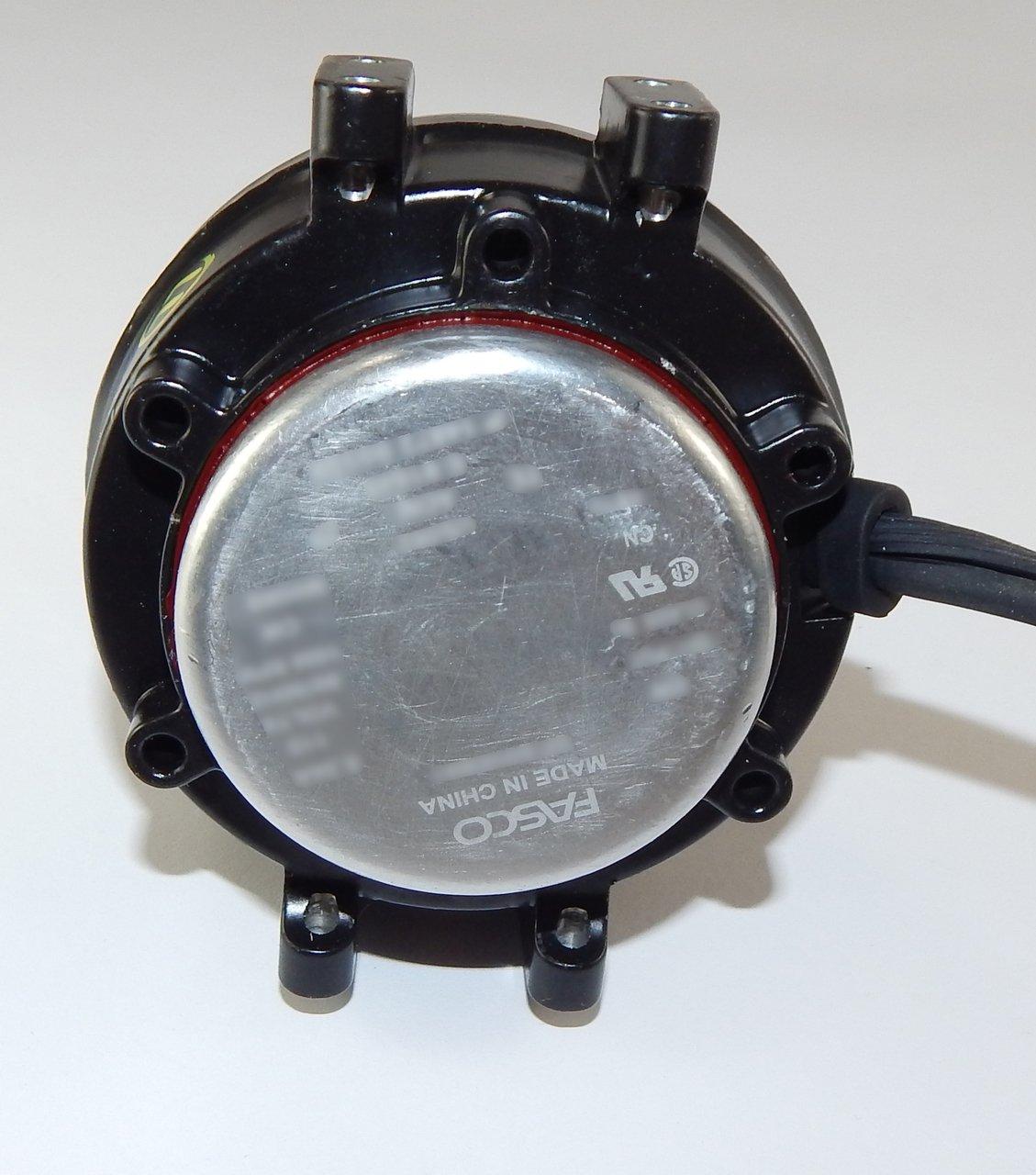 5 Watt 1550 RPM CWLE 115V Unit Bearing Refrigeration Electric Motor Fasco UB582