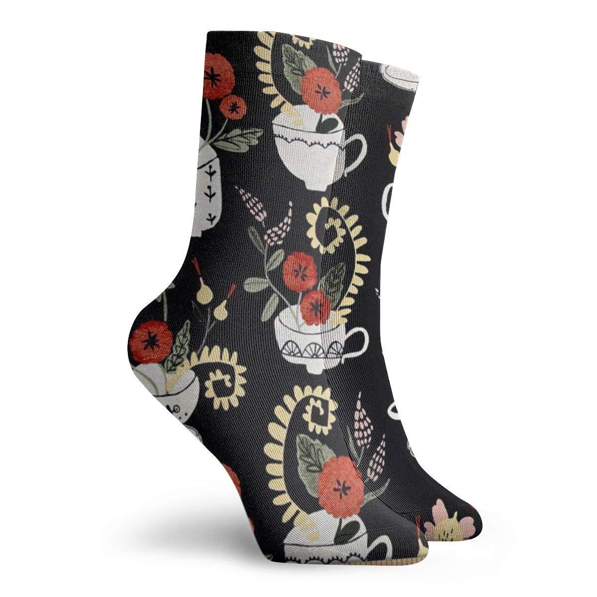 Flower-Plantings Unisex Funny Casual Crew Socks Athletic Socks For Boys Girls Kids Teenagers