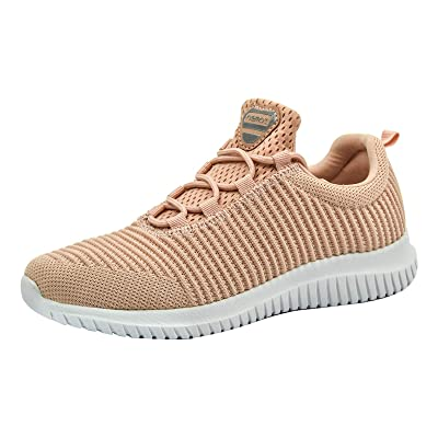 Women/'s Casual Shoes Outdoor Breathable Lightweight Slip-on Running Gym Sneakers