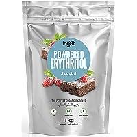 ingfit 100% Natural Erythritol - Powdered, ZERO Calorie, Keto, Sugar Replacement… (1)