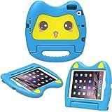 MoKo Case per Apple iPad Mini 3 / 2 / 1 - Custodia Protettiva Antiurto con Supporto Maniglia per Bambini per Apple iPad Mini 3 2014, Mini 2 2013 e Mini 2012, Blu (NON per iPad Mini 4)