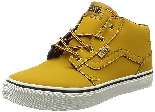 f9f64f33df Vans Unisex Kids  Chapman Mid Hi-Top Sneakers