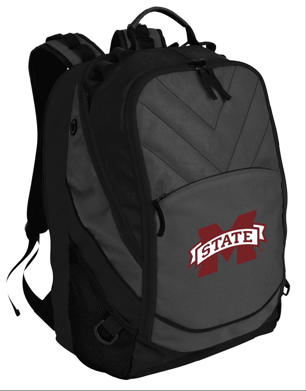 Broad Bay BEST Mississippi State University Backpack Laptop Computer Bag