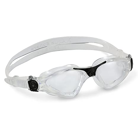 a37db1a10e11 Amazon.com  Aqua Sphere Kayenne Swim Goggles with Clear Lens (Clear ...