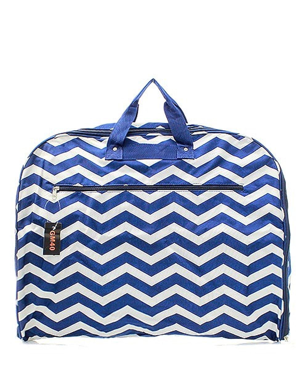 Chevron Stripe Garment Bag Handbag Inc