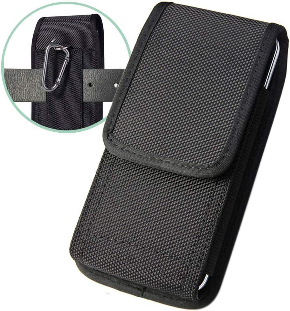 Suhctup Funda Huawei P20 Lite Bolsas de Cuero con Clip de Cinturón,Funda Universal para teléfonos Inteligentes de 6.5 Pulgadas,(para 6.5