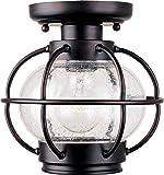 Sea Gull Lighting 8869 44 Sebring One Light Outdoor Flush