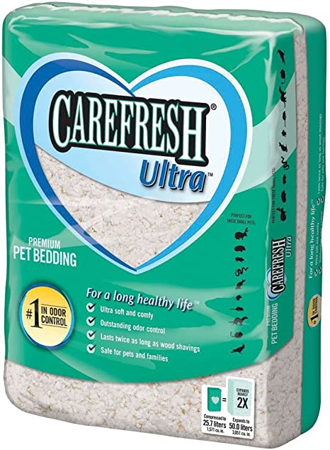 CAREFRESH ULTRA PET BEDDING 50 LITER BAGS. 6
