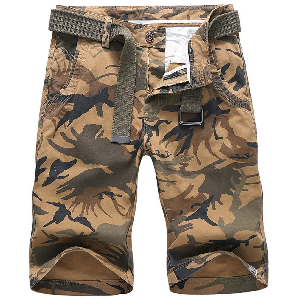 Votre magasin mondial Homme Fermeture /éclair Slim Biker Pantalon Mode Simple Pantalon Camouflage Sport Jogging Casual Tropical Voyage de Plage Multi Poches sans Ceinture