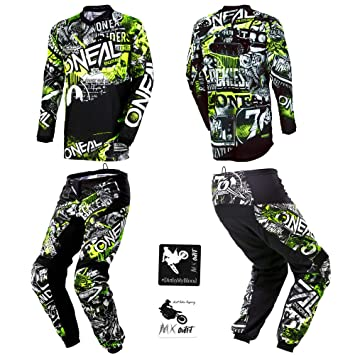 Jersey Pant MX Motocross Dirt Bike Off-Road ATV MTB Gear Fly Racing F-16 Combo