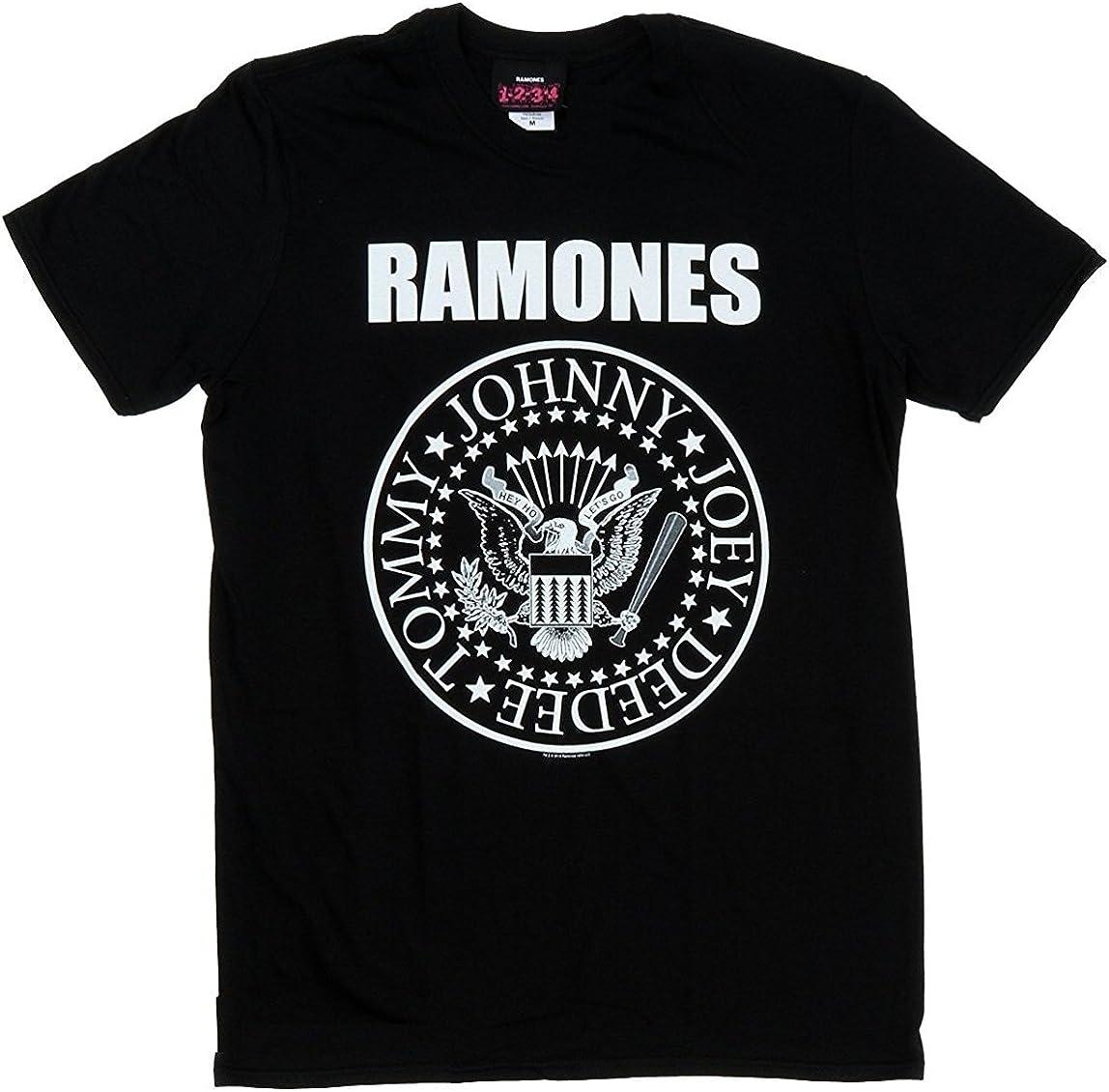 Merch Traffic Ramones Presidential Seal T-Shirt
