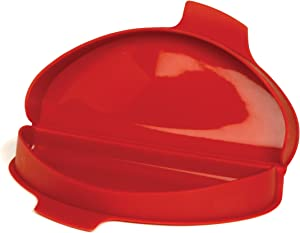 """Norpro, Red 930 Silicone Omelet Maker, 8.75 by 4.75 by 1.38-Inch, 8.75"""" x 4.75"""" x 1.38"""""""