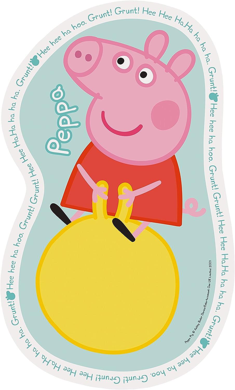 4,6,8,10pc Ravensburger Peppa Pig 4 Shaped Jigsaw Puzzles