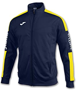 Joma Teamwear Jacket Champion IV Navy-Yellow Uniforms Felpa