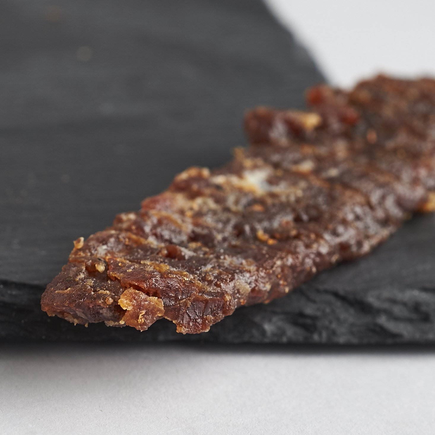 People's Choice Beef Jerky - Tasting Kitchen - Orange Honey Teriyaki - Gourmet Handmade Craft Meat Snack - 1 Pound Bag by People's Choice Beef Jerky (Image #3)