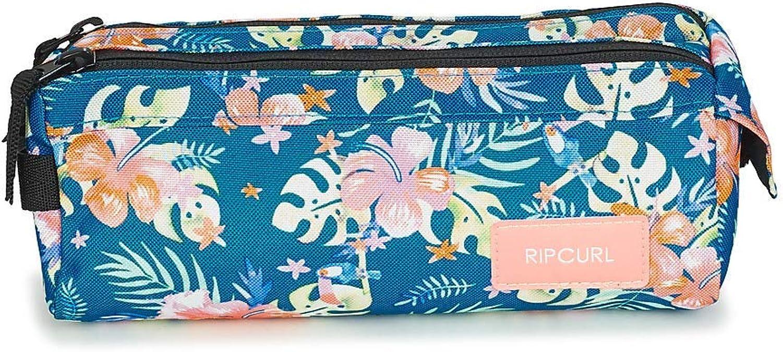 RIP CURL Pencil Case 2P Toucan FLO Estuche Filles Azul/Multicolor - única - Neceser: Amazon.es: Zapatos y complementos