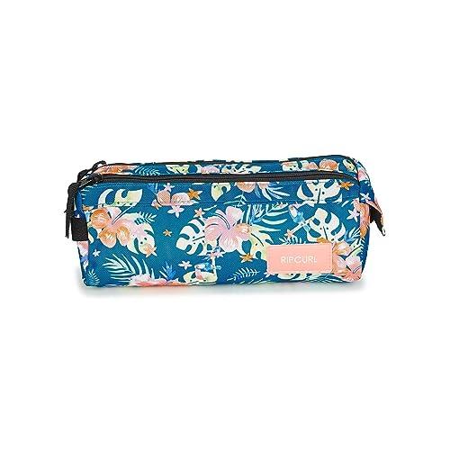 RIP CURL Pencil Case 2P Toucan FLO Estuche Chicas Azul única ...