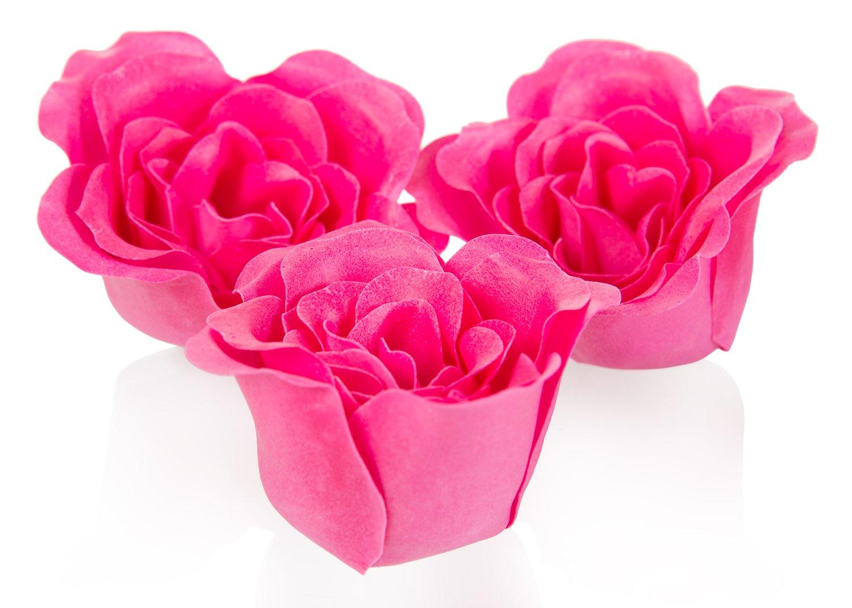 Deluxe Valentins Badeset (8 Teile) Herzenslust, Valentinstag Wellness Geschenkset mit pflegenden Bade & Massagezubehör,