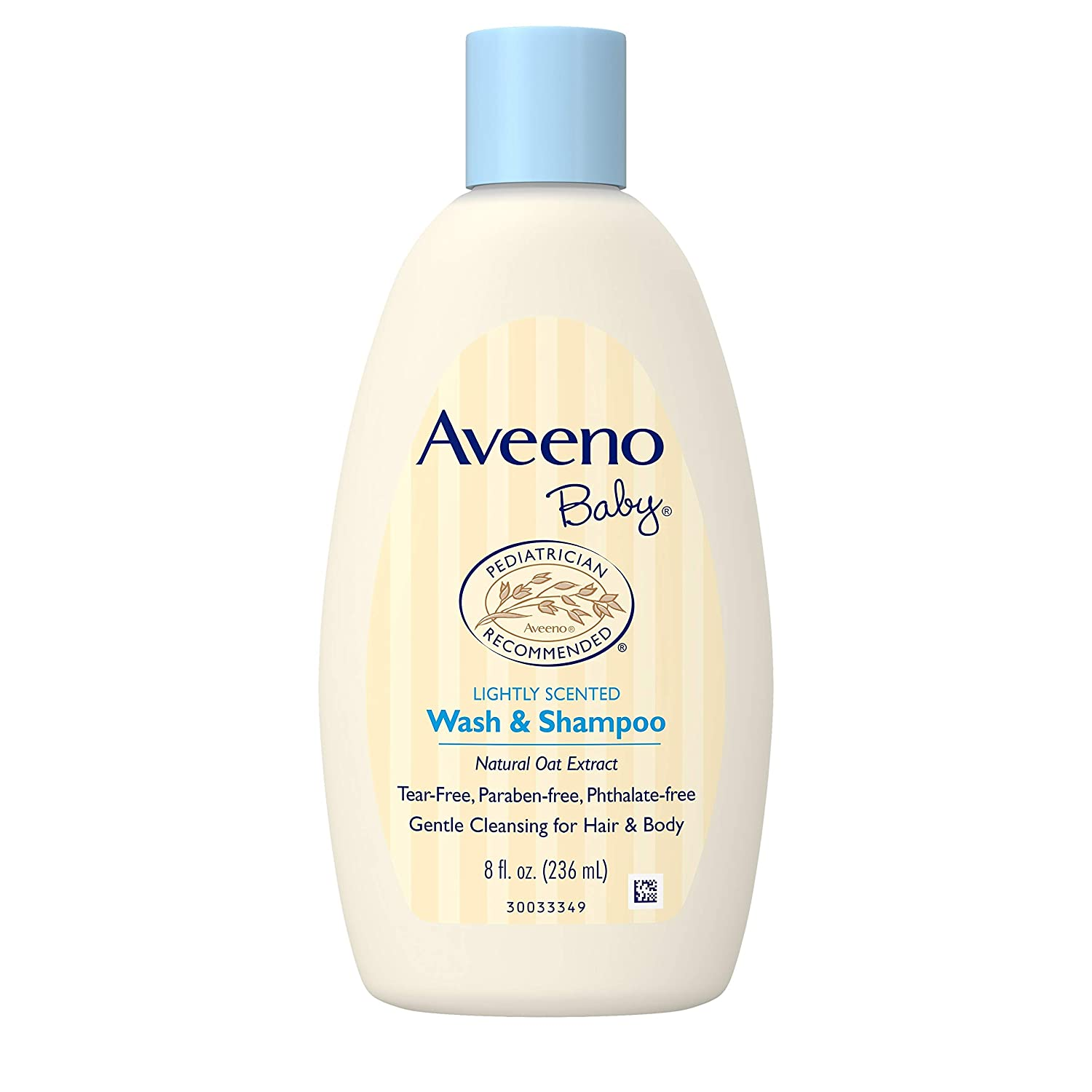 Aveeno Baby Gentle Wash & Shampoo With Natural Oat Extract, Tear-Free & Paraben-Free Formula For Hair & Body