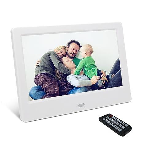 Amazon.com: Digital Picture Frame, YENOCK 7 Inch Digital Frame IPS ...