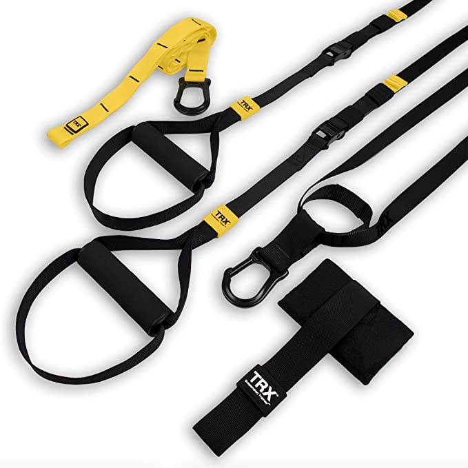 TRX GO Suspension Trainer System: Lightweight & Portable  Full Body Workouts, All Levels & All Goals  Includes Get Started Poster, 2 Workout Guides & ...