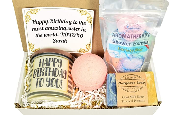 Amazoncom Custom Birthday Gift Box Christmas Gift Ideas Secret