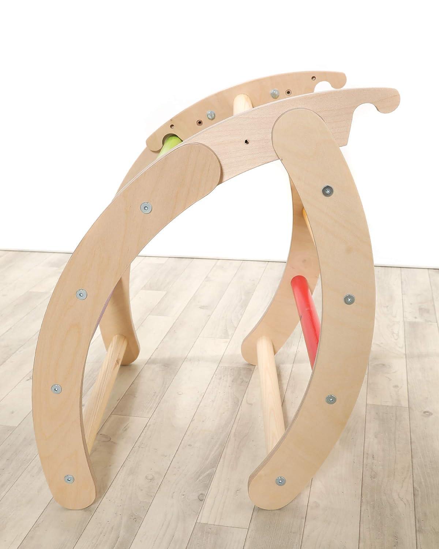 Monochrome Folding Pikler Hump