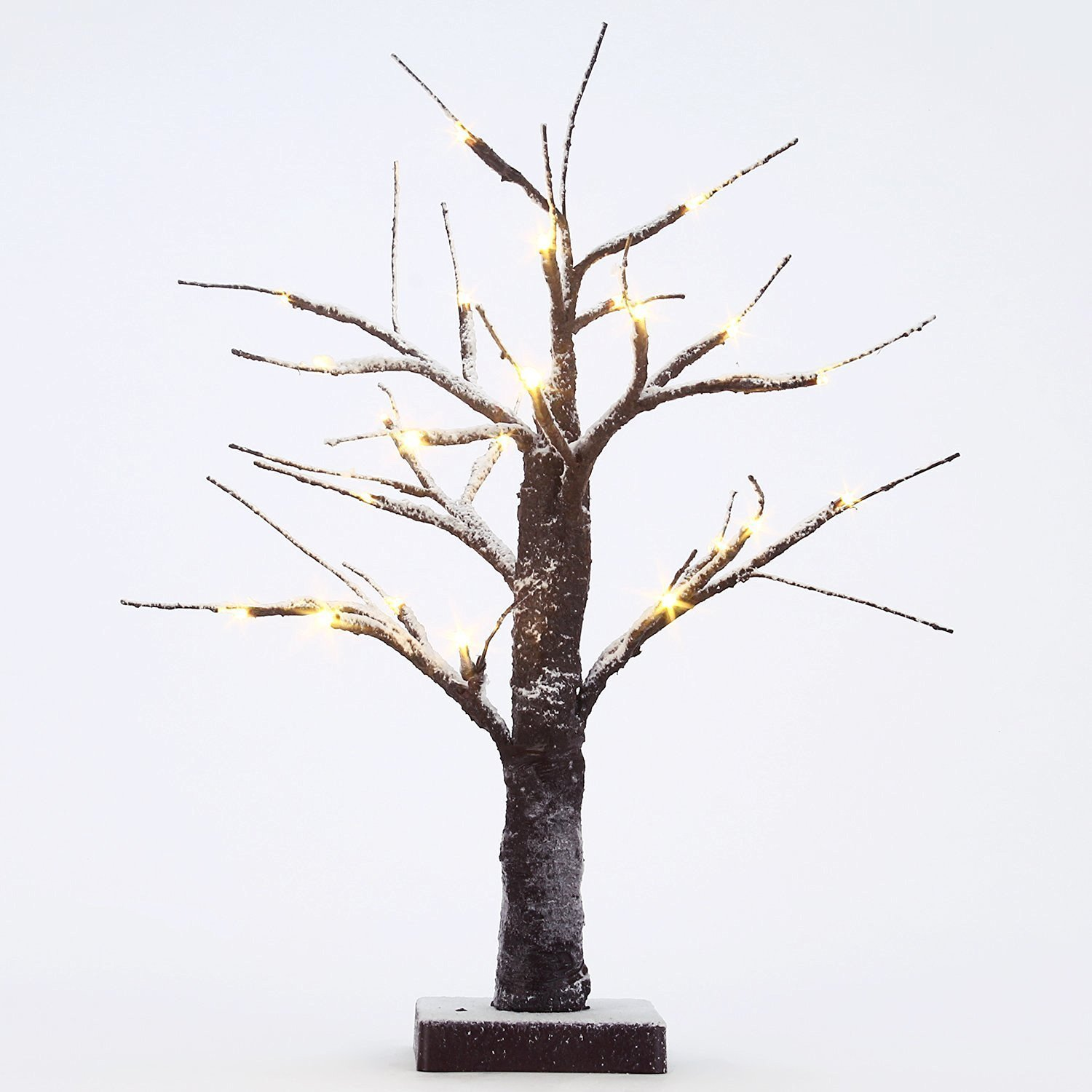 Fashionlite Bonsai LED Light Decorative Xmas Snow Tree,Home/Party/Festival/Christmas/Indoor and Outdoor Use SNWL001
