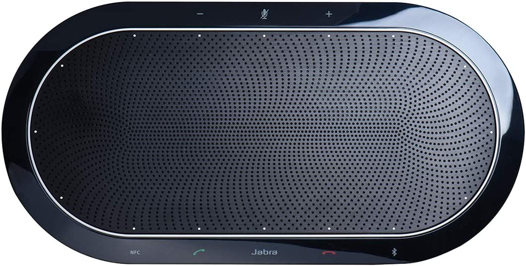 Jabra Speak 810 - Altavoz Portátil para Conferencias con Bluetooth y USB, Certificado por Microsoft, Compatible con PC, Smartphones y Tabletas
