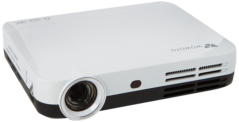 Full HD 3D DLP proyector, Foxcesd H9 3500 lúmenes Mini 1080P Video ...