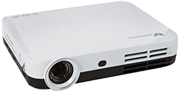 Full HD 3D DLP proyector, Foxcesd H9 3500 lúmenes Mini 1080P Video Proyectors, Android 4.4 OS, LED Projector con Keystone, HDMI, USB, WIFI & Bluetooth