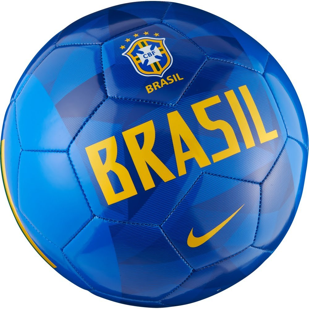 b8d6ae64d Amazon.com : NIKE 2018-2019 Brazil Supporters Football (Blue) : Sports &  Outdoors