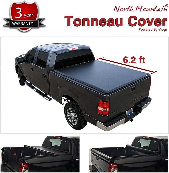 NEW 1993-2013 Ford Ranger 6/' Bed Black Vinyl Pro Tri-Folding Tonno Tonneau Cover