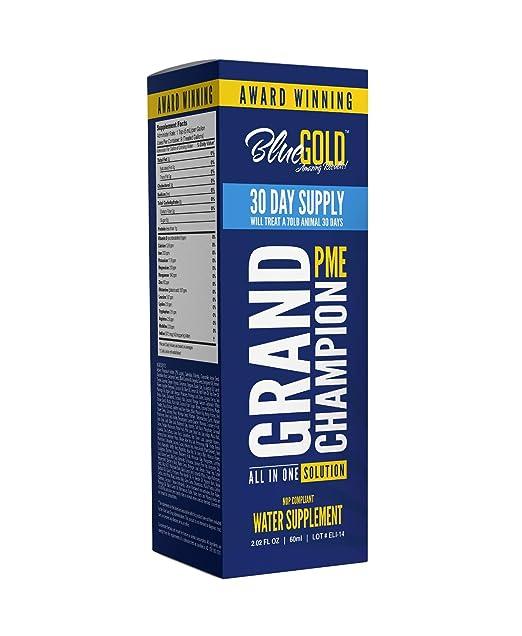 Blue Gold Gran Campeón: Estudio de 30 días sobre el ...