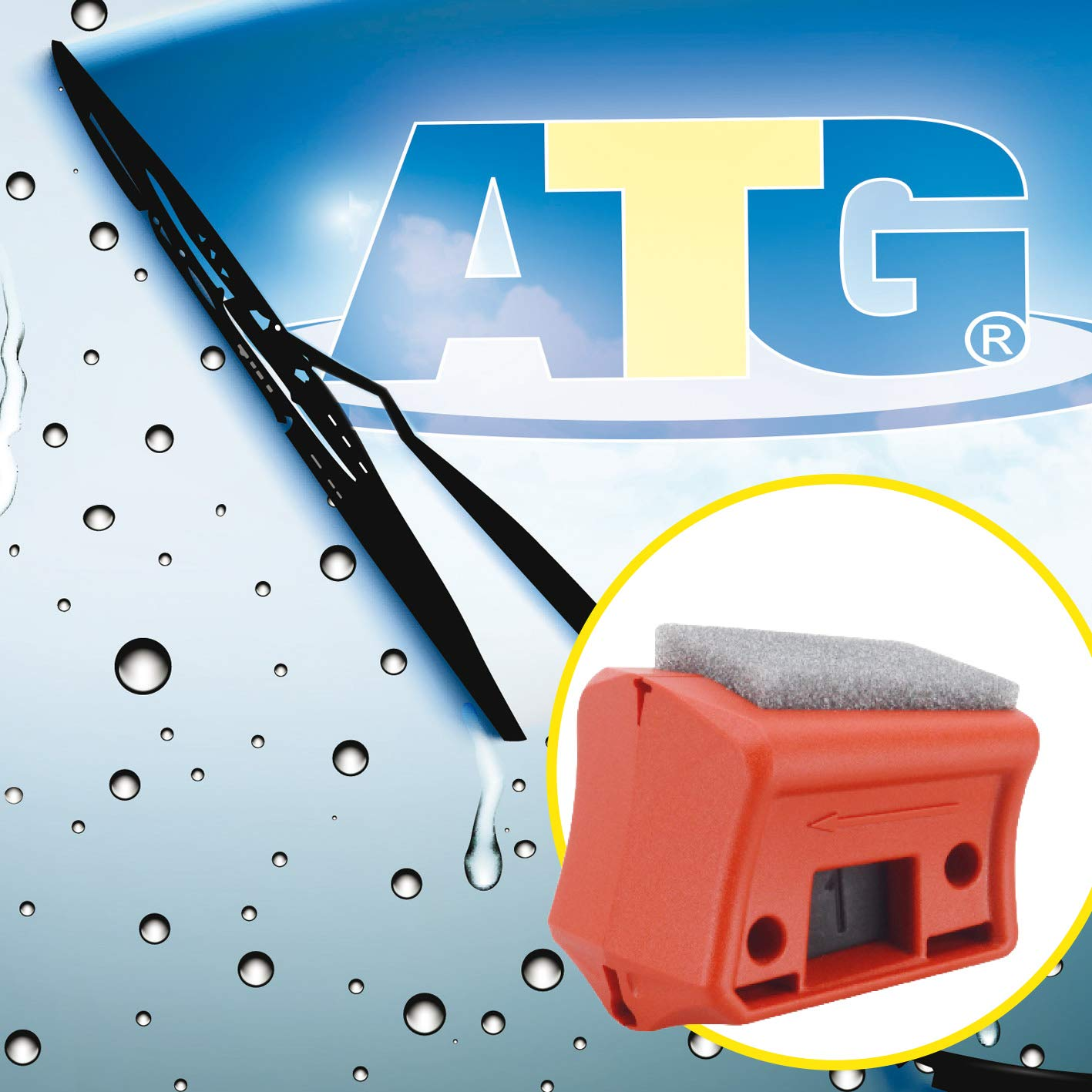 ATG Recortador Universal escobillas limpiaparabrisas Coche - Reparación Goma limpiaparabrisas Universal, rápido y fácil: Amazon.es: Coche y moto