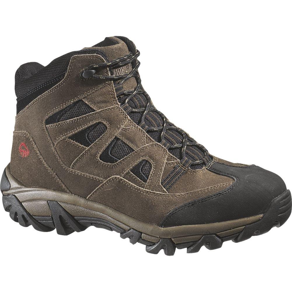 Men 's Wolverine Steel Toe Work Bootsブラウン B002U0NQ2M 11.5 D(M) US|ブラウン ブラウン 11.5 D(M) US