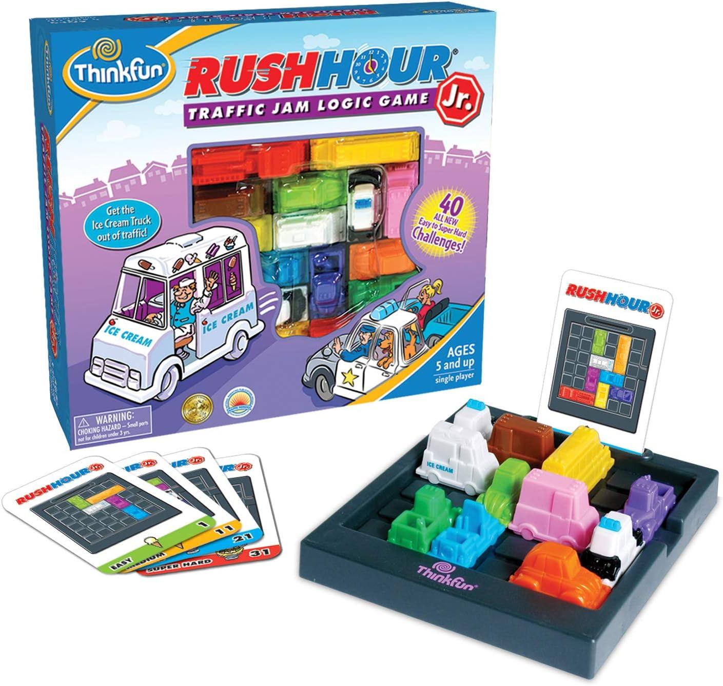 ThinkFun Rush Hour Junior Traffic Jam Logic Game/