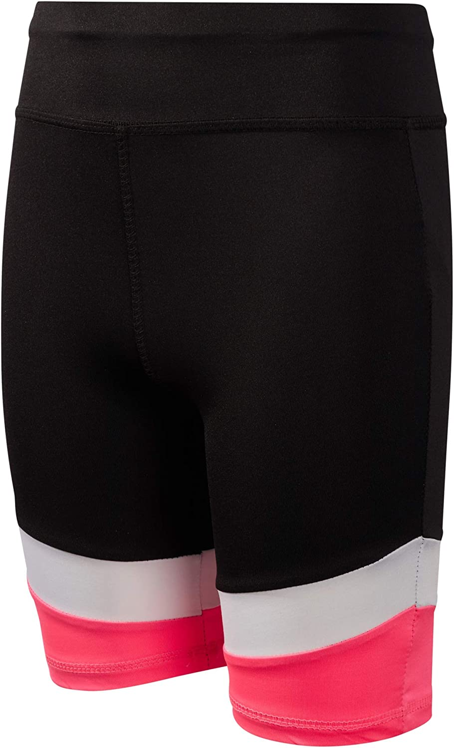 Reebok Girls Athletic Bike Shorts Long Length Workout Running Shorts 2 Pack