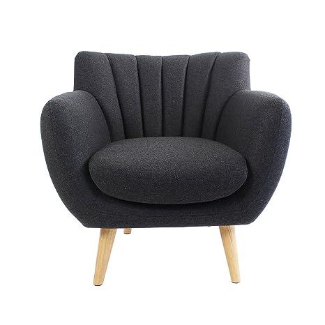 ALTASSINA Soft Silla/sofá, Estilo Escandinavo Confort ...