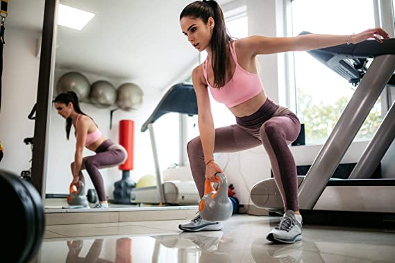 incluye p/óster de ejercicios idioma espa/ñol no garantizado Msports Pesa rusa con neopreno profesional de 2 a 30 kg