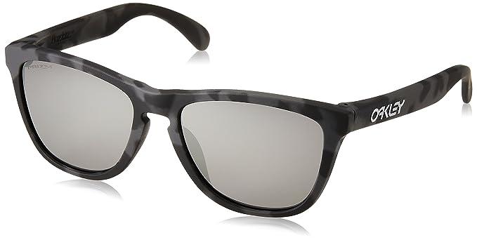 093181c7eede99 Oakley Men s Frogskins (a) Non-Polarized Iridium Rectangular Sunglasses,  Black CAMO,