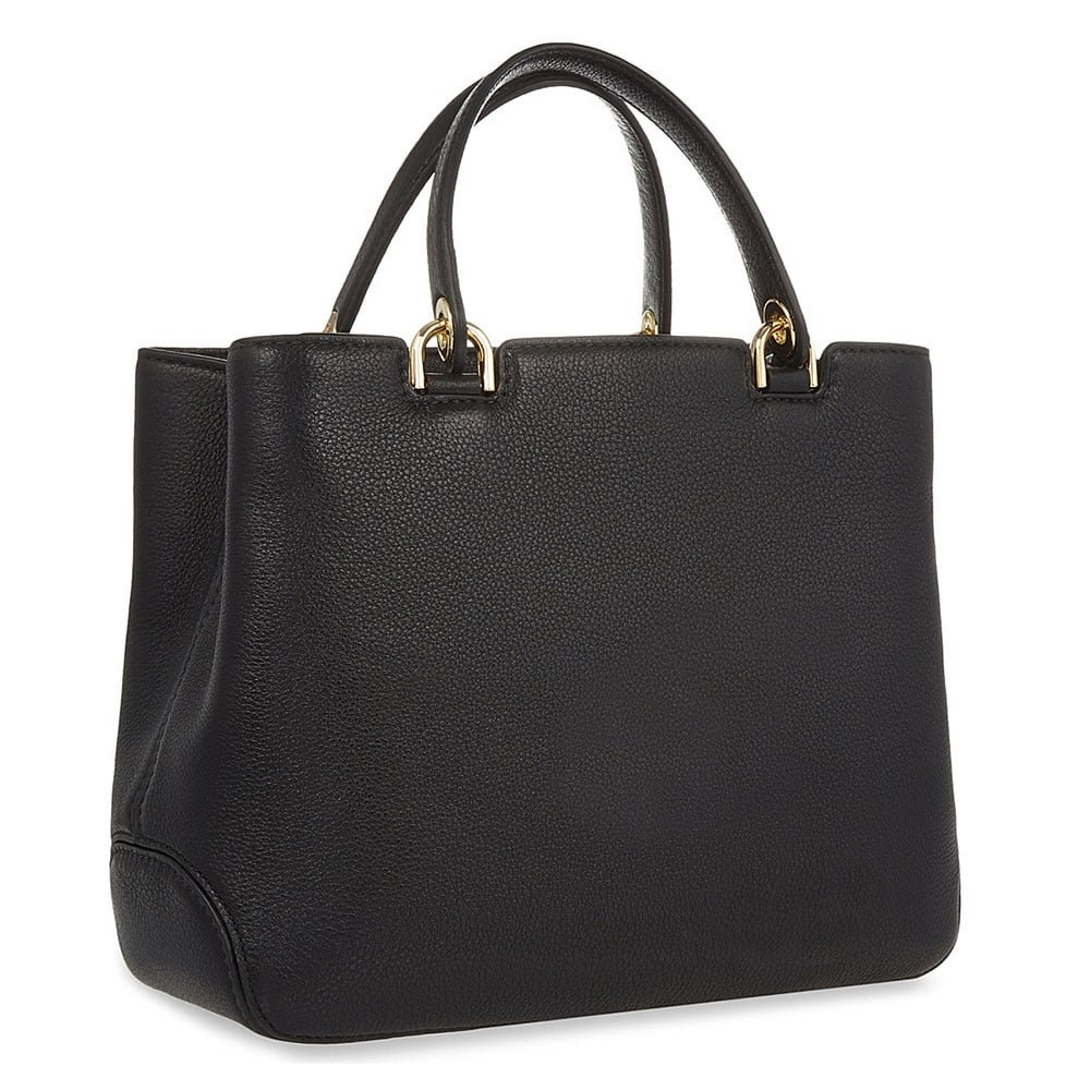 6c904efbdc32 MICHAEL by Michael Kors Anabelle Black Medium Leather Tote one size Black   Amazon.co.uk  Shoes   Bags