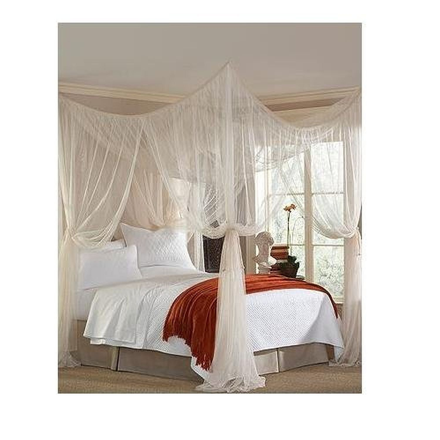 sc 1 st  Amazon.com & Amazon.com: Majesty King Queen Bed Canopy: Home u0026 Kitchen