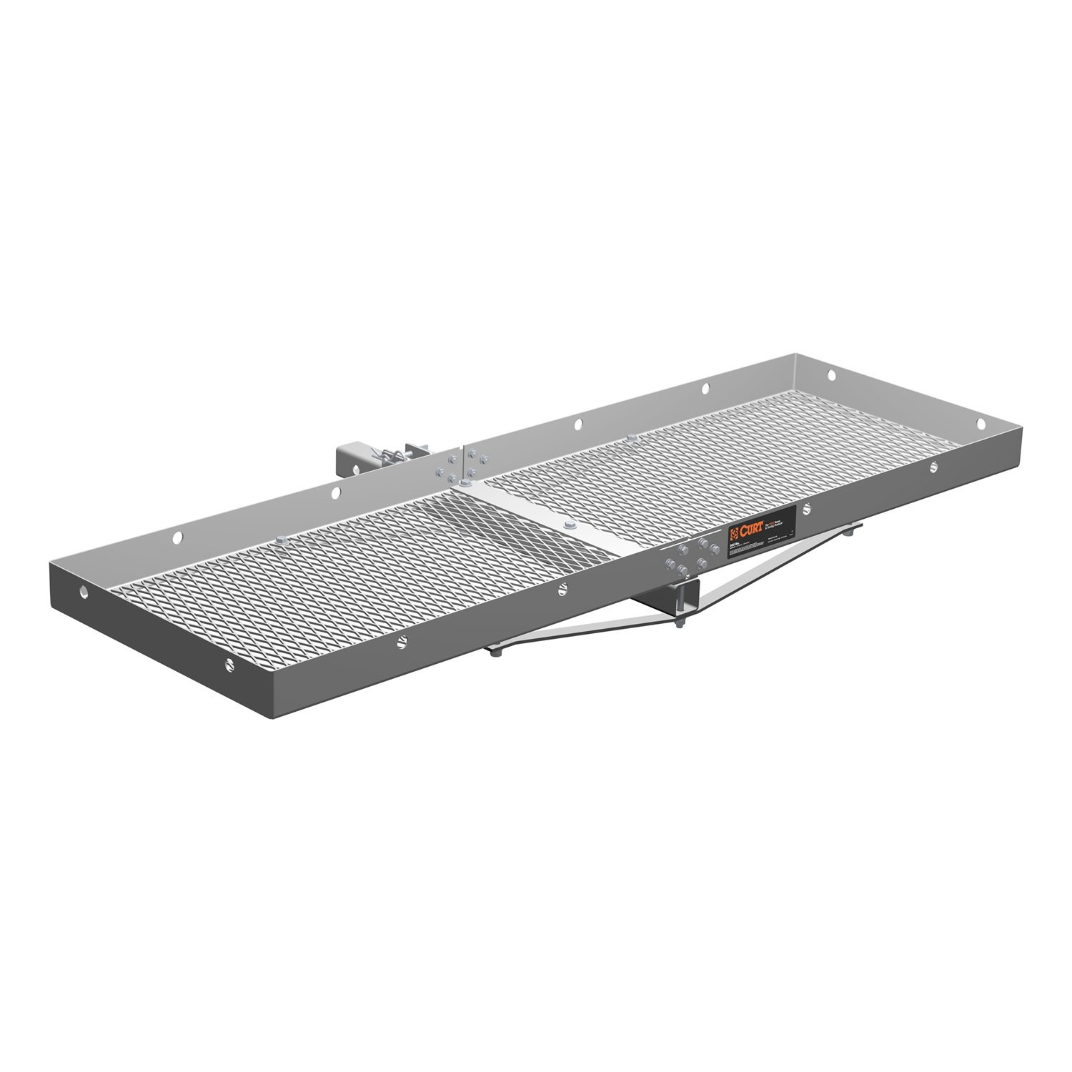 CURT 18100 Tray-Style Cargo Carrier