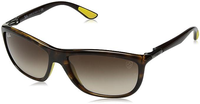 862be9bfe73 Amazon.com  Ray-Ban Men s 0rb8351mf6116g60plastic Man Non-Polarized Iridium  Square Sunglasses