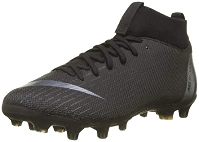 size 40 131b6 e86bb Nike JR Mercurial Superfly 6 Academy GS MG Soccer Cleat (Black) (4Y)