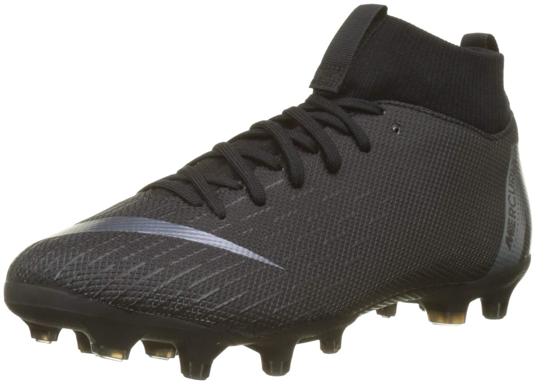Nike Superfly VI Academy Kid's Soccer Multi Ground Cleats (1 Little Kid M US) Black
