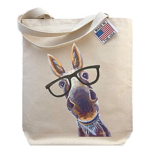donkey gifts Donkey bag reusable bag shopping bag tote bag cotton bag
