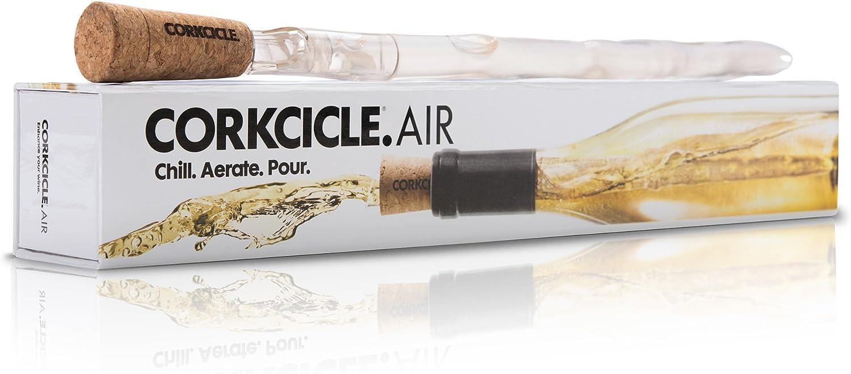 Corkcicle 5064 - Botella isotérmica de plástico, transparente, 2,5 x 2,5 x 12 cm