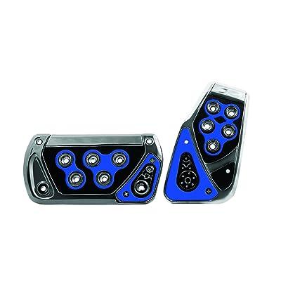 Pilot Automotive Pilot PM-2312B2 Voltage Pedal Pad Set for Automatic Transmissions - Black/Blue, 1 Pack: Automotive